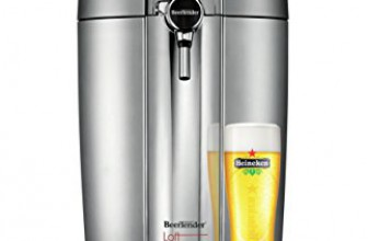 Test de la Machine à bière Krups VB700E00