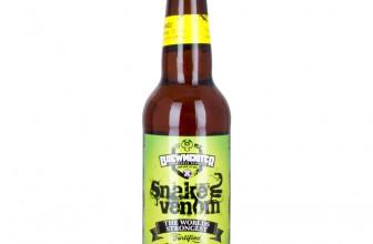 Biere Les Plus Forte la snake venom, bière la plus forte du monde - guide d'achat