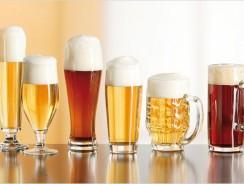Sélection de verres à bières