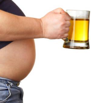 Bière et prise de poids